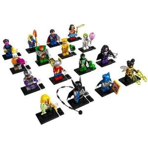 Set 16 Minifigures Serie DC Comics