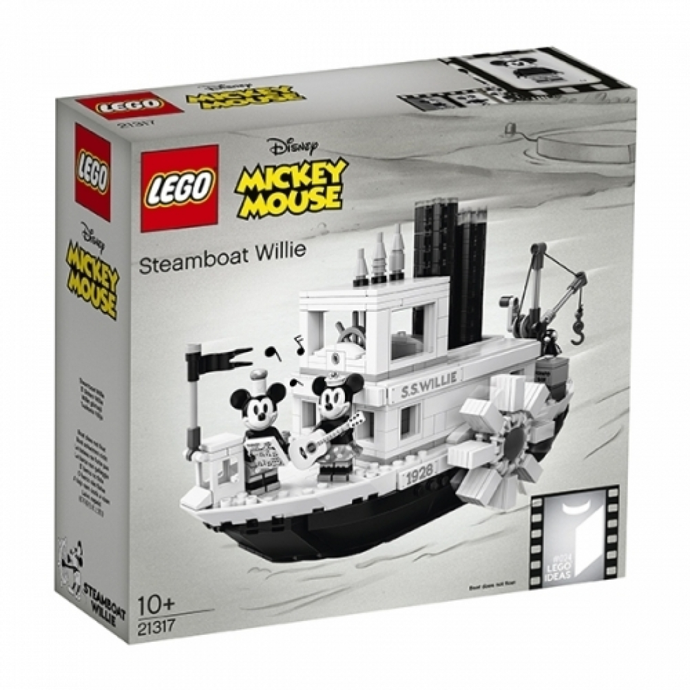 Steamboat Willie 90's Anniversary - DAMAGED BOX - NO MINIFIGURES