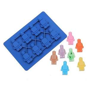 Stampo in Silicone Minifigures