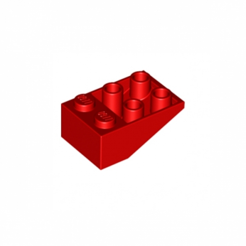 Slope Inverted 33 3X2 without Connections between Studs Red
