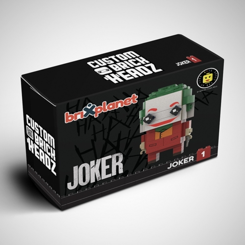 MOC Joker Movie 2019 - Custom BrickHeadz