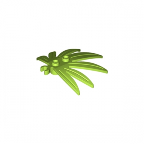Plant Leaves Lime 6X5 Swordleaf with Clip