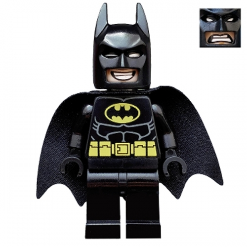 Batman - Dual Sided Head Grin and Angry Face (Type 2 Cowl)