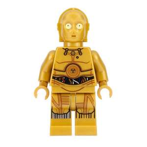 C-3PO - Colorful Wires Printed Legs
