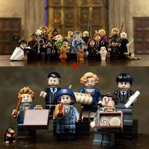 Set 22 Minifigures Harry Potter + Animali Fantastici