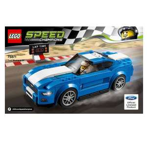 Istruzioni set 75871 - Ford Mustang GT