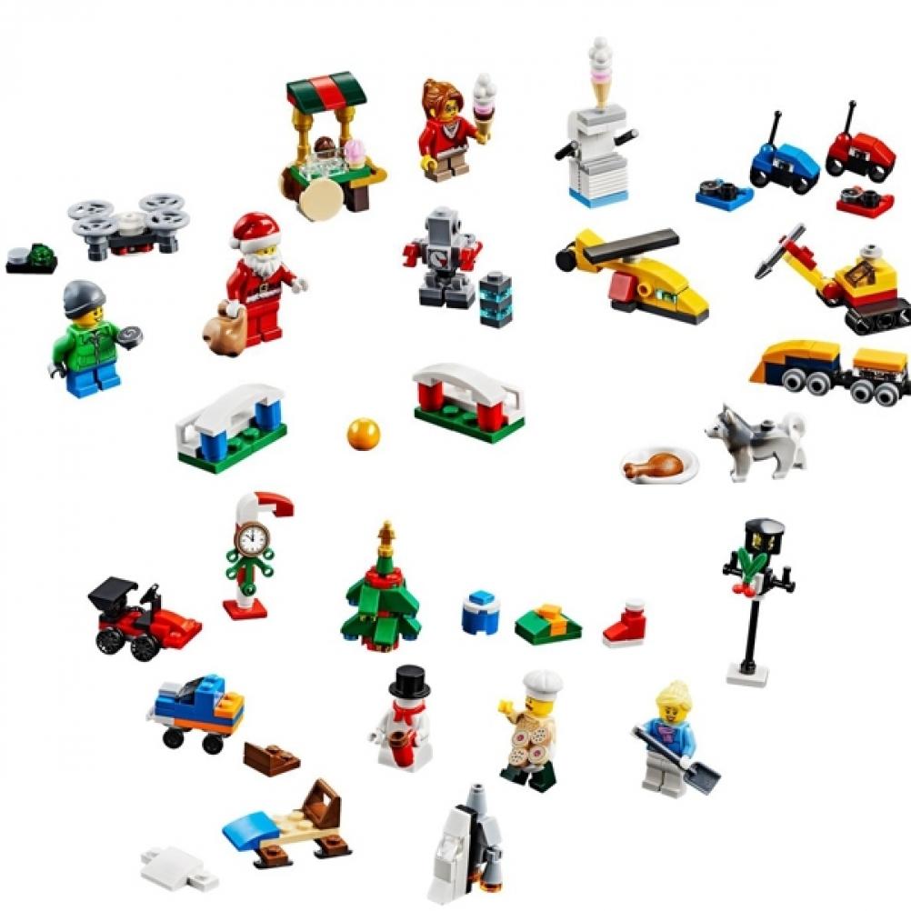 Calendario Avvento Lego City.Calendario Dell Avvento Lego 2018 Brix Planet Lego