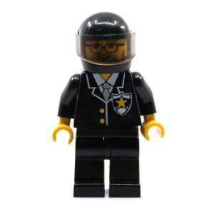 Police Pilot with Sheriff Star