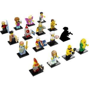 Set 16 Minifigures Serie 17