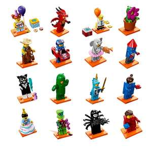 Set 16 Minifigures Serie 18 (NO Police)