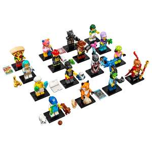 Set 16 Minifigures Serie 19
