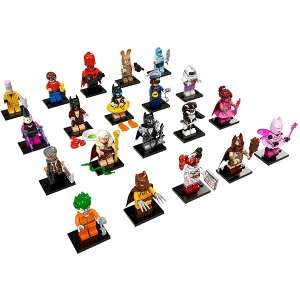 Set 20 Minifigures Serie Batman Movie 1