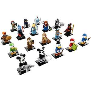 Set 18 Minifigures Serie LEGO Disney 2