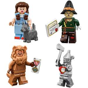 Set 4 Minifigures Serie Wizard Of OZ