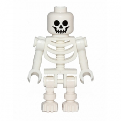 Skeleton with Standard Skull, Bent Arms Vertical Grip